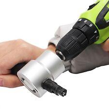 Sheet Nibbler Attachment Metal Cuter Drill Accessory Hand Tools Double Head DIY