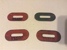 1349P - Four New Oval Washers For A New Idea No. 302, 309, 310, 323 Corn Picker