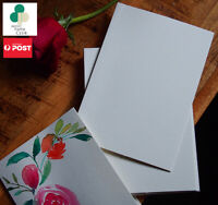 Watercolour Paper DIY Cards,Folded Blank Cards & A7 Envelopes Pack of 20 ,230GSM