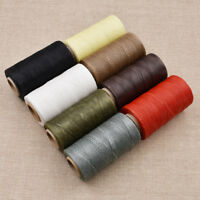 260M 150D Waxed Thread Repair Cord String Sewing Leather Hand Stitching DIY