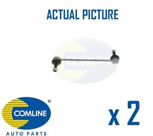 2 x NEW COMLINE FRONT DROP LINK ANTI ROLL BAR PAIR OE QUALITY CSL7001