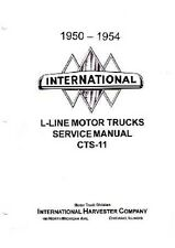 1951 1952 1953 1954 International L R Shop Service Repair Manual Book Oem Guide