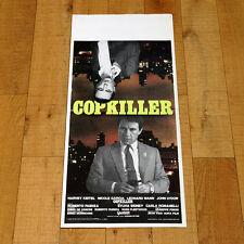 COPKILLER locandina poster Harvey Keitel Leonard Mann Nicole Garcia Faenza Y83