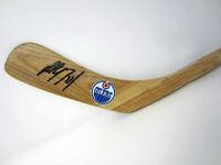 PAUL COFFEY Edmonton Oilers Autograph SIGNED Hockey Stick Blade w/ BAS COA