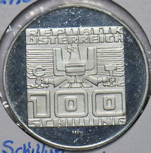 Austria 1978 Silver 100 Schilling proof 292787 combine