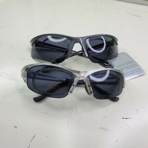 ALPINA PSO FOUR Sport Glasses Sunglasses CYCLING gray black clear Lot of 2