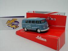 """Schuco 20105S # VW T1 Bus Baujahr 1967 in hellblau """" 66 Jahre Edition """" 1:64"""