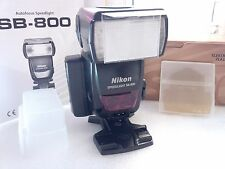 Nikon Speedlight SB-800 SB800 Flash EXCL Cond w BOX/Diffuser/Gels/Stand/5th