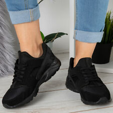 Black Comfort Shoes in Women's Trainers