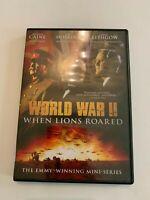 1994 World War II When Lions Roared Mini Series DVD Michael Caine