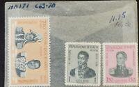 Haiti 1954 M N H Dessalines Magloire Stamps