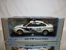 WELLY VW VOLKSWAGEN PASSAT - CHINA POLICE - 1:18 VERY RARE - EXCELLENT IN BOX