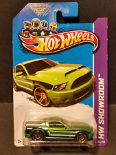 2013 Hot Wheels #155 HW Showroom - '10 Ford Shelby GT500 SuperSnake Green