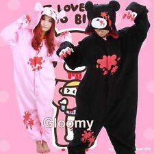 Gloomy Bear Kigurumi Pajamas Anime Cosplay Costume Unisex Adult Sleepwear
