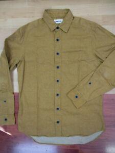 Taylor Stitch British Khaki Button Front Long Sleeve Utility Shirt - Size 40