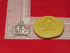 Princess Crown Silicone Mold Cake Fondant Resin Clay Craft Candy A2 Soap Candle