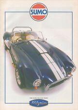 PILGRIM Sumo Kit Car (AC COBRA REPLICA, made in GB) _ 2000 Prospectus/Brochure