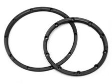 1/5 RC Baja Genuine HPI Wheel Beadlock Rings Black 3241