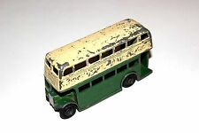 Dinky Toys Post War 1st Type Grill Double Decker Bus # 29C !!