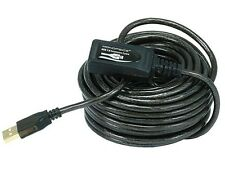 Monoprice 32' 10M USB 2.0 A Male to A Female Active Extension / Repeater Cable