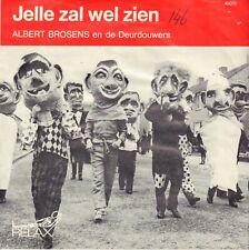 """ALBERT BROSENS – Jelle Zal Wel Zien (BEATLES SONG 1967 VINYL SINGLE 7"""")"""