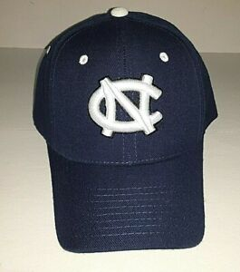 North Carolina Tar Heels Zephyr Navy Fitted Hat    Size 6 7/8