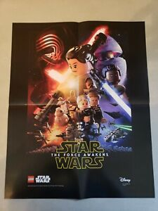 2016 Lego Star Wars The Force Awakens 16x20 Promotional Poster