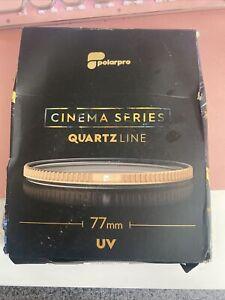 PolarPro QuartzLine 77mm UV Camera Filter CINEMA SERIES