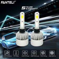 1950W 292500LM H1 LED Headlight Kit Low Beam Light Bulbs 6000K White High Power