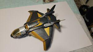Marvel Avengers Quinjet Jet Plane Toy 2011 Hasbro. Missing Missiles great shape