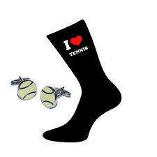 I Love Tennis Calze e Palle da Tennis Gemelli Set regalo
