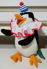 MADAGASCAR CLOWN PENGUIN CHARACTER PLUSH TOY! KIDS TOY ABOUT 21CM TALL SOFT TOY!