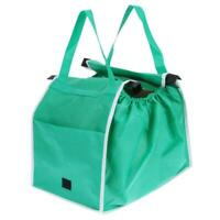 Bag Storage Foldable Trolley  Shopping Tote Bags Eco Reusable Cart Grocery