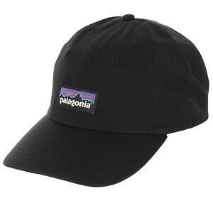 Patagonia Mens - P-6 Label Trad Cap - Black