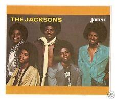 The Jackson 5 Five Michael  Vintage Joepie Sticker Card
