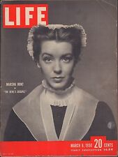LIFE March 6,1950 Marsha Hunt / Golf Clothes / Boxer Dies from Blow / Northside