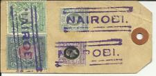 East Africa & Uganda SG#54,#26,#51,#48 Nairobi to USA undated commercial parce