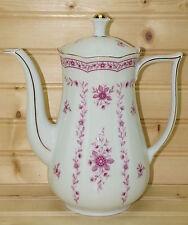 """Vohenstrauss Johann Seltmann Pink Coffee Pot, 7 3/8"""" tall with Lid, 9 1/4"""""""