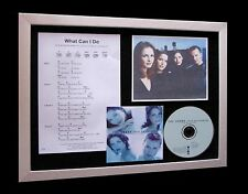 THE CORRS What Can I Do LTD Nod CD MUSIC FRAMED DISPLAY