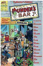 Borgogna 's Bar ANNUAL no. 1/1988 Brian Bolland Mike Baron Steve Rude Jerry Ordway