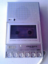 FAIR MATE Micro Cassette Recorder automatic stop made in japan