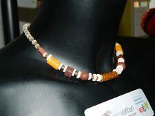 Collana Indiana della serenità in ceramica indiana colorata OMA19