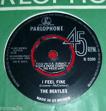 THE BEATLES -I Feel Fine- CBS/Oriole Contract Pressing