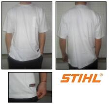 T-shirt motosega sweatshirt woodman motorsage STIHL TIMBERSPORTS bianco weiss L