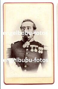 PORTRAIT-FOTO - CDV - 1870 - GENERAL - TOP ORDEN & BRUSTSTERN - Frankreich ?