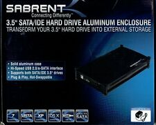 SABRENT 3.5 SATA-IDE Hard Drive Aluminum Enclosure - Includes a 250Gb HDD