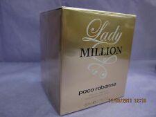 LADY MILLION PACO RABANNE 2.7 FL oz / 80 ML EDP Spray Sealed Box
