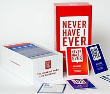 Never Have I Ever The Adult Party Card Game of Poor Life Decisions NEW Free Ship