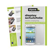 2x Samsung Galaxy Express Lámina protectora de pantalla mate Dipos