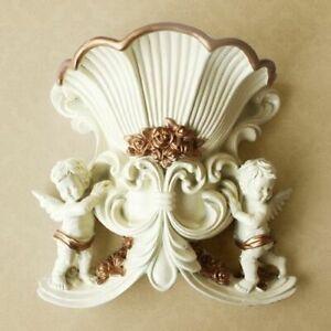 Resin Art Vase Home Decorative European Style Creative Hanging Wall Vase Wedding